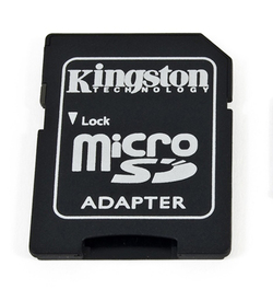 Kingston micro SD към SD адаптер